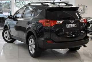 2013 Toyota RAV4 ALA49R GXL AWD Black 6 Speed Sports Automatic Wagon.