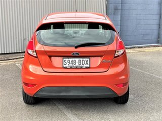 2014 Ford Fiesta WZ Ambiente Orange 5 Speed Manual Hatchback