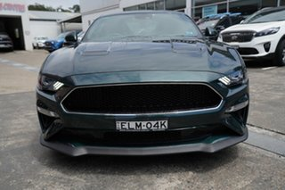 2018 Ford Mustang FN 2019MY BULLITT Green 6 Speed Manual Fastback