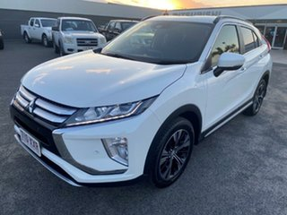 2017 Mitsubishi Eclipse Cross YA MY18 LS 2WD White 8 Speed Constant Variable Wagon