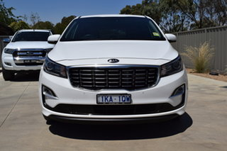 2019 Kia Carnival YP MY19 SLi White 8 Speed Sports Automatic Wagon.