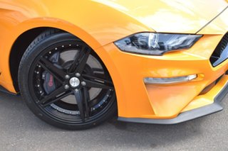 2018 Ford Mustang FN 2019MY GT Orange Fury 6 Speed Manual Fastback.