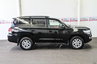 2017 Toyota Landcruiser VDJ200R MY16 VX (4x4) Eclipse Black 6 Speed Automatic Wagon