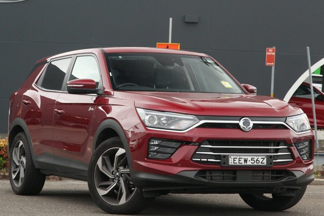 Used Ssangyong Korando C300 MY20 Ultimate 2WD Parramatta, 2019 Ssangyong Korando C300 MY20 Ultimate 2WD Red 6 Speed Sports Automatic Wagon