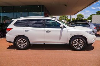 2016 Nissan Pathfinder R52 MY16 ST X-tronic 4WD White 1 Speed Constant Variable Wagon