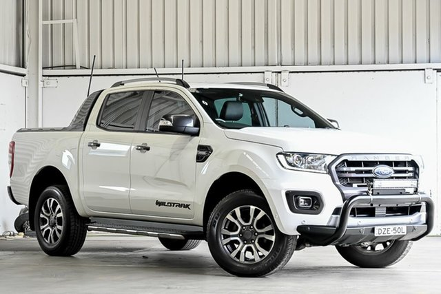 Used Ford Ranger PX MkIII 2019.00MY Wildtrak Laverton North, 2019 Ford Ranger PX MkIII 2019.00MY Wildtrak White 10 Speed Sports Automatic Double Cab Pick Up