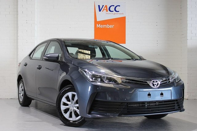 Used Toyota Corolla ZRE172R Ascent S-CVT Moorabbin, 2019 Toyota Corolla ZRE172R Ascent S-CVT Grey 7 Speed Constant Variable Sedan