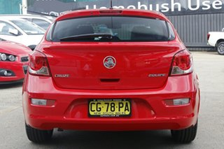 2015 Holden Cruze JH Series II MY15 Equipe Red Hot 6 Speed Sports Automatic Hatchback