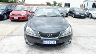2007 Lexus IS GSE20R IS250 Prestige Grey 6 Speed Sports Automatic Sedan.