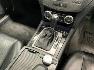 2010 Mercedes-Benz C-Class W204 MY10 C200 CGI Classic Silver 5 Speed Sports Automatic Sedan