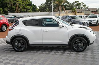2019 Nissan Juke F15 MY18 Ti-S X-tronic AWD Ivory Pearl 1 Speed Constant Variable Hatchback.