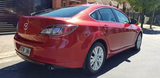 2008 Mazda 6 GH Classic Red 6 Speed Manual Sedan