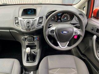 2014 Ford Fiesta WZ Ambiente Orange 5 Speed Manual Hatchback