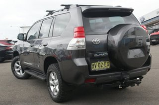 2010 Toyota Landcruiser Prado GRJ150R GXL Grey 5 Speed Sports Automatic Wagon.