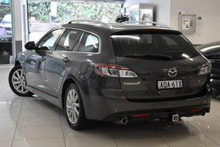 2011 Mazda 6 GH1052 MY10 Touring Grey 5 Speed Sports Automatic Wagon.