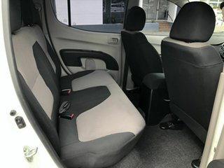 2009 Mitsubishi Triton MN MY10 GL-R Double Cab 4x2 White 5 Speed Manual Utility