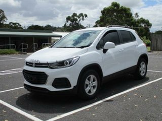 2018 Holden Trax TJ Turbo LS Summit White Automatic Wagon.