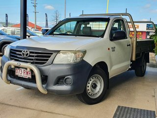 2011 Toyota Hilux Workmate White 5 Speed Manual Utility
