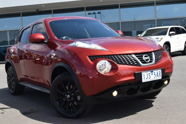 Used Nissan Juke F15 MY14 ST-S 2WD Essendon Fields, 2014 Nissan Juke F15 MY14 ST-S 2WD Red 6 Speed Manual Hatchback