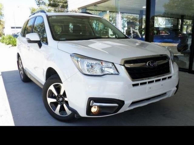 Used Subaru Forester MY17 2.0D-L Wangaratta, 2017 Subaru Forester MY17 2.0D-L White Continuous Variable Wagon