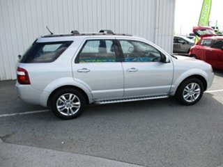 2011 Ford Territory TS Limited Silver 4 Speed Automatic Wagon.