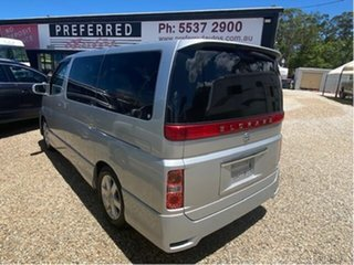 2008 Nissan Elgrand E51 Silver 5 Speed Automatic Wagon