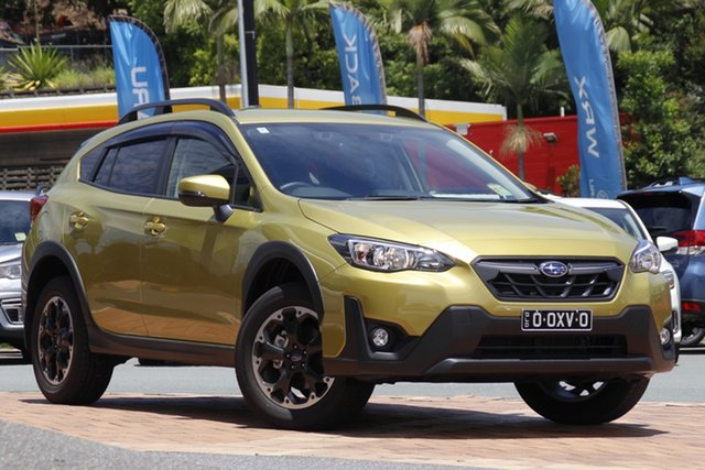 Demo Subaru XV G5X MY21 2.0i-L Lineartronic AWD Newstead, 2020 Subaru XV G5X MY21 2.0i-L Lineartronic AWD Plasma Yellow-Black 7 Speed Constant Variable Wagon