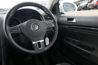 2010 Volkswagen Golf VI MY10 118TSI DSG Comfortline White 7 Speed Sports Automatic Dual Clutch Wagon