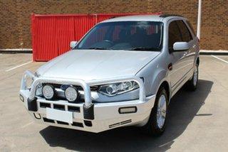 2011 Ford Territory SZ TX (RWD) Silver 6 Speed Automatic Wagon.