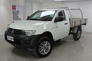 2013 Mitsubishi Triton MN GL 5 Speed Manual Cab Chassis.