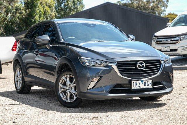 Used Mazda CX-3 DK2W7A Maxx SKYACTIV-Drive Mornington, 2017 Mazda CX-3 DK2W7A Maxx SKYACTIV-Drive Grey 6 Speed Sports Automatic Wagon