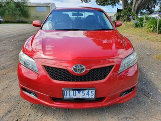 2007 Toyota Camry ACV40R Sportivo Red 5 Speed Automatic Sedan