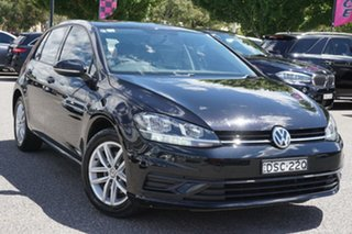 2018 Volkswagen Golf 7.5 MY18 110TSI Deep Black 6 Speed Manual Hatchback.
