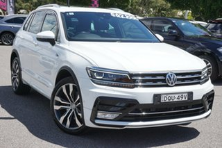 2016 Volkswagen Tiguan 5N MY17 162TSI DSG 4MOTION Highline White 7 Speed.