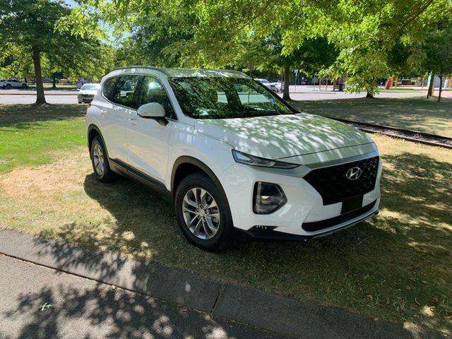 Used Hyundai Santa Fe TM MY19 Active Launceston, 2018 Hyundai Santa Fe TM MY19 Active White 8 Speed Sports Automatic Wagon