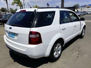2011 Ford Territory SY MkII TX (4x4) White 6 Speed Auto Seq Sportshift Wagon
