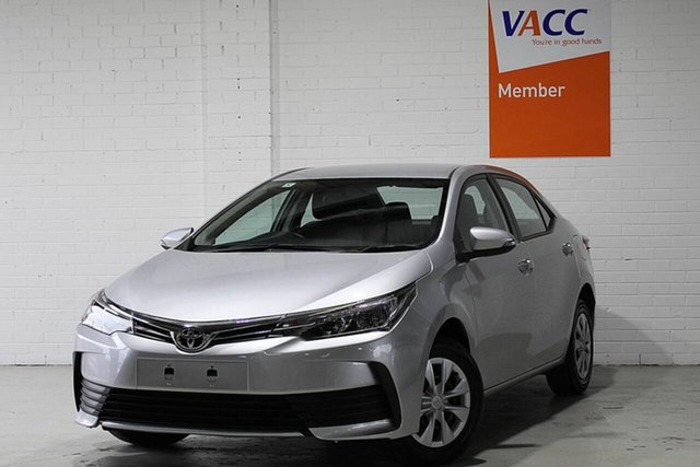 Used Toyota Corolla ZRE172R Ascent S-CVT Moorabbin, 2019 Toyota Corolla ZRE172R Ascent S-CVT Silver 7 Speed Constant Variable Sedan