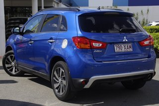 2014 Mitsubishi ASX XB MY15 XLS Lightning Blue 6 Speed Sports Automatic Wagon.
