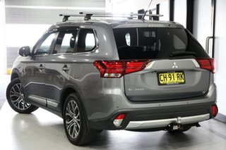 2016 Mitsubishi Outlander ZK MY16 XLS (4x2) Grey Continuous Variable Wagon.