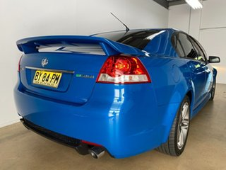 2012 Holden Commodore VE II MY12 SV6 Blue 6 Speed Automatic Sedan.