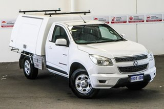 2014 Holden Colorado RG MY15 LS (4x4) 6 Speed Automatic Cab Chassis.