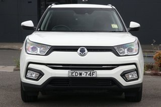 2019 Ssangyong Tivoli X100 ELX 2WD White 6 Speed Sports Automatic Wagon
