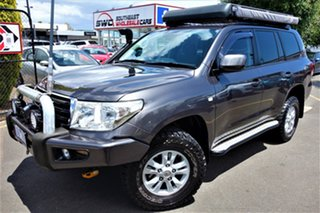 2009 Toyota Landcruiser VDJ200R GXL Charcoal 6 Speed Sports Automatic Wagon.