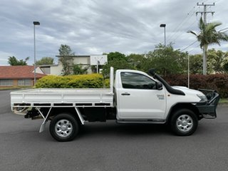 2011 Toyota Hilux KUN26R Workmate White 5 Speed Manual Single Cab.