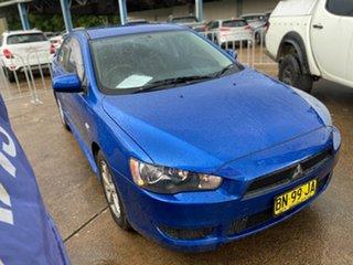 2011 Mitsubishi Lancer CJ MY11 ES Blue 5 Speed Manual Sedan.
