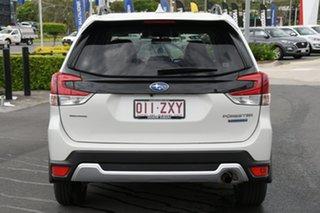 2019 Subaru Forester S5 MY20 Hybrid L CVT AWD White 7 Speed Constant Variable Wagon Hybrid.