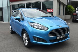 2013 Ford Fiesta WZ Trend PwrShift Blue 6 Speed Sports Automatic Dual Clutch Hatchback.