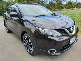 2015 Nissan Qashqai J11 TI Purple Manual Wagon.