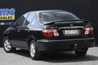 2003 Nissan Pulsar N16 S2 MY2003 Q Black 5 Speed Manual Hatchback