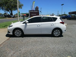 2015 Toyota Corolla ZRE182R Ascent S-CVT White 7 Speed Constant Variable Hatchback.